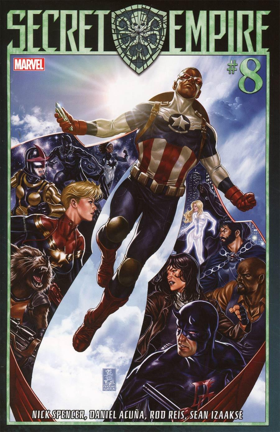 Secret Empire #8 Cover A 1st Ptg Regular Mark Brooks Cover