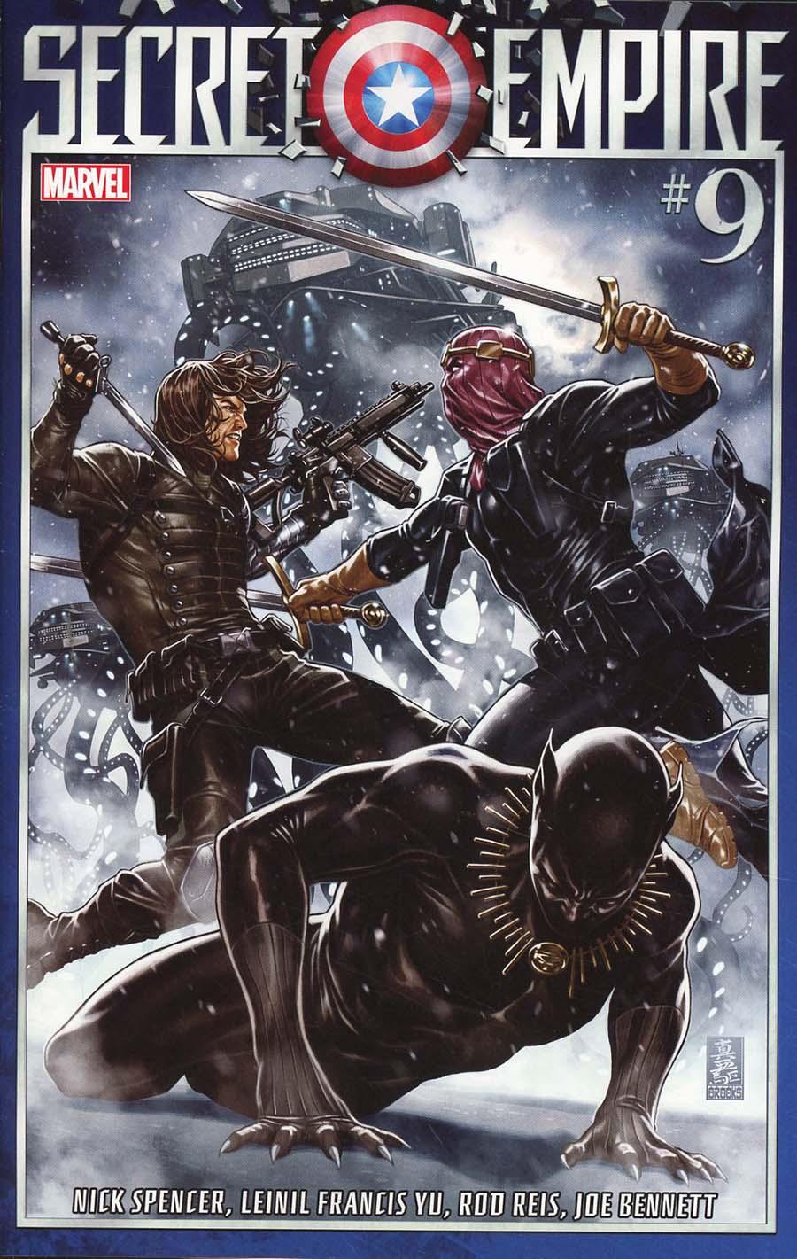 Secret Empire #9 Cover A Regular Mark Brooks Cover