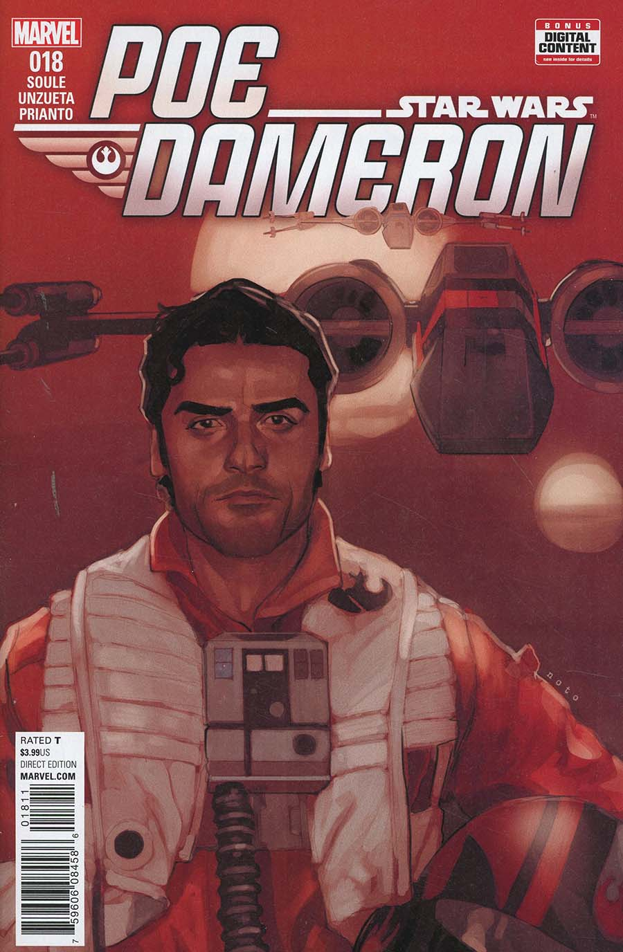 Star Wars Poe Dameron #18 Cover A Regular Phil Noto Cover