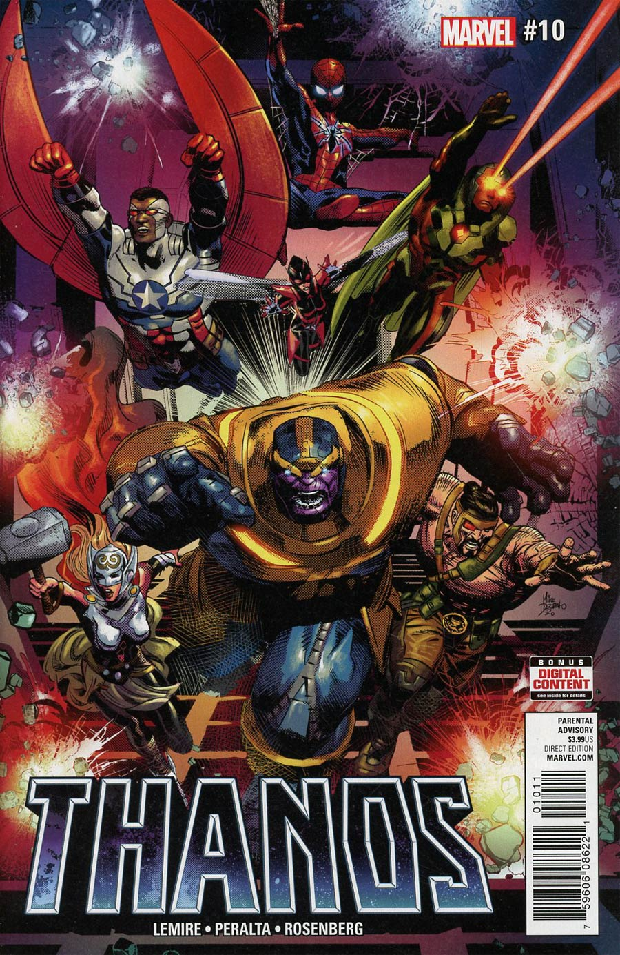 Thanos Vol 2 #10 Cover A Regular Mike Deodato Jr Cover