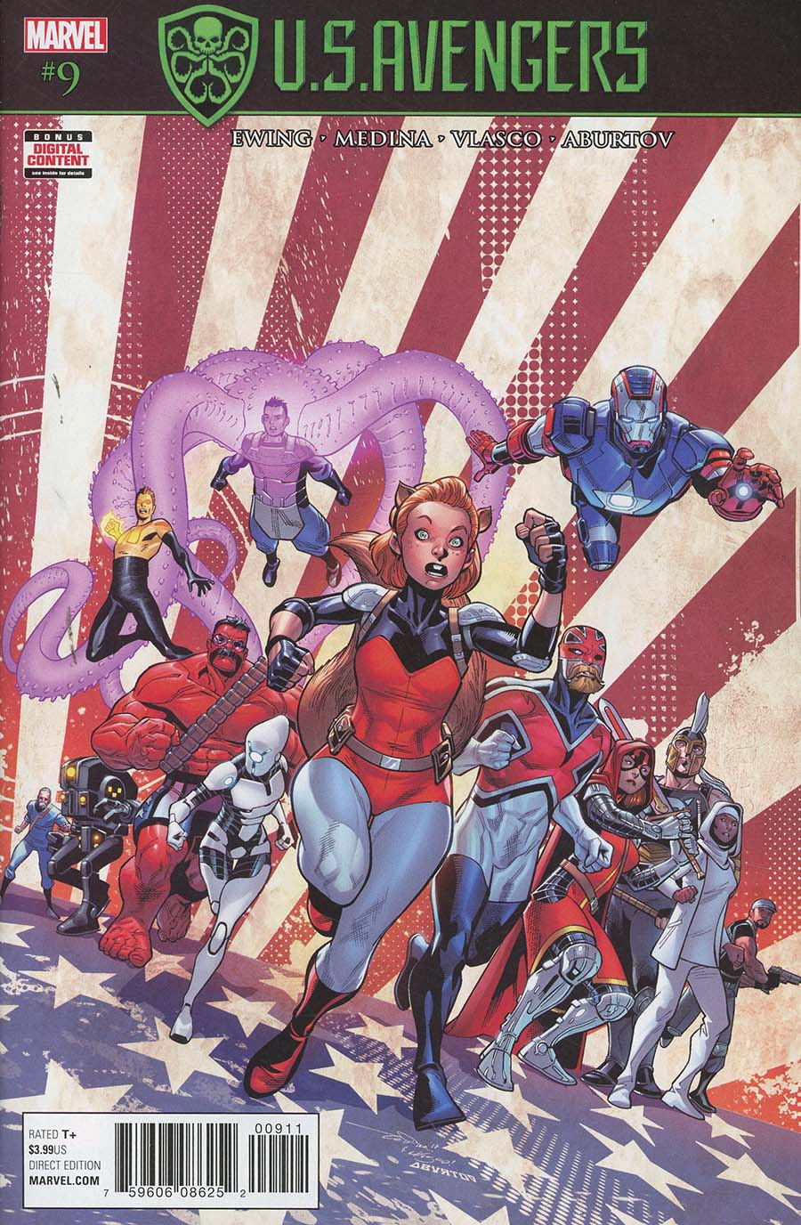 U.S.Avengers #9 (Secret Empire Tie-In)
