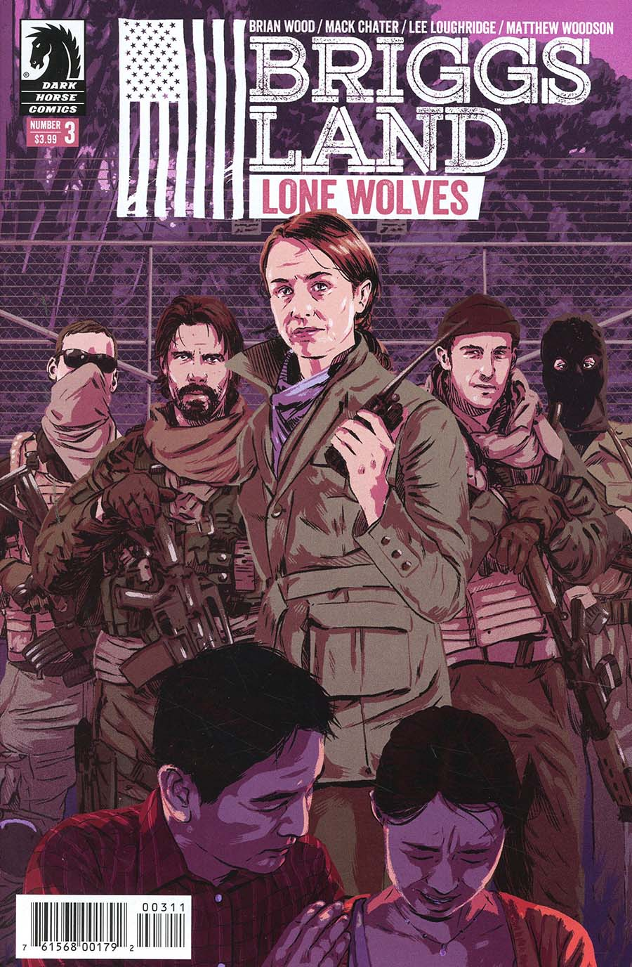 Briggs Land Lone Wolves #3 Cover A Regular Matthew Woodson Cover