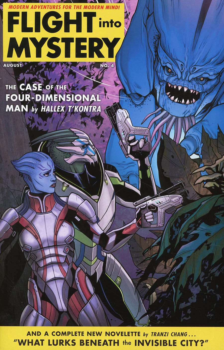 Mass Effect Discovery #4 Cover B Variant Kate Niemczyk Cover