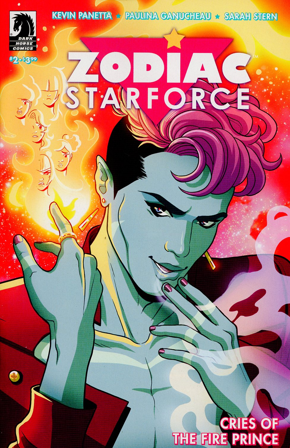 Zodiac Starforce Cries Of The Fire Prince #2
