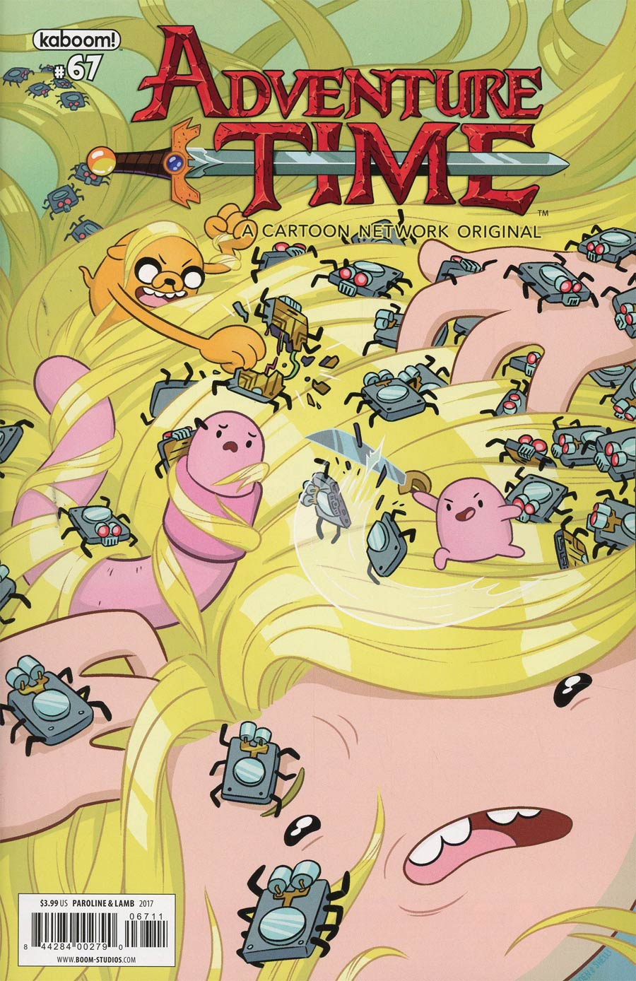Adventure Time #67 Cover A Regular Shelli Paroline & Braden Lamb Cover