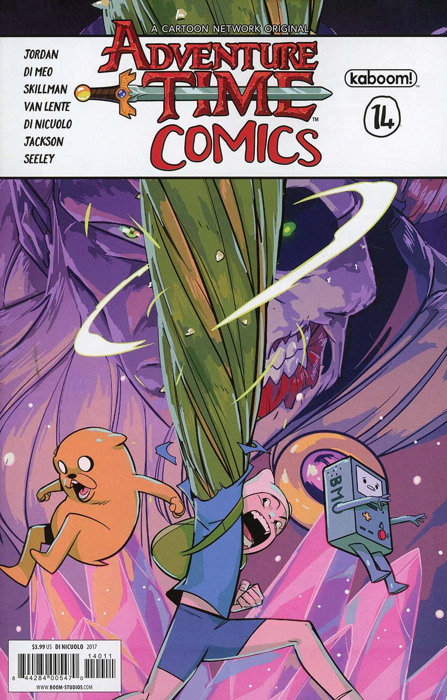 Adventure Time Comics #14 Cover A Regular Daniele Di Nicuolo Cover