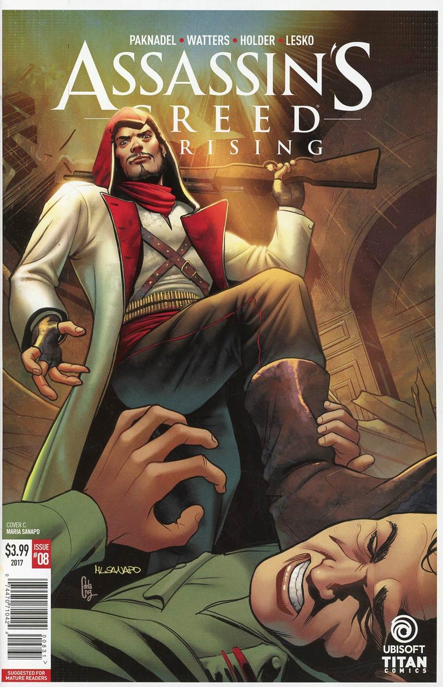 Assassins Creed Uprising #8 Cover C Variant Maria Sanapo Cover