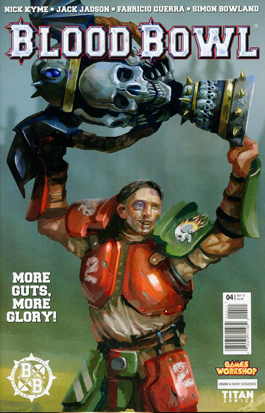 Blood Bowl More Guts More Glory #4 Cover A Regular David Sondered Cover