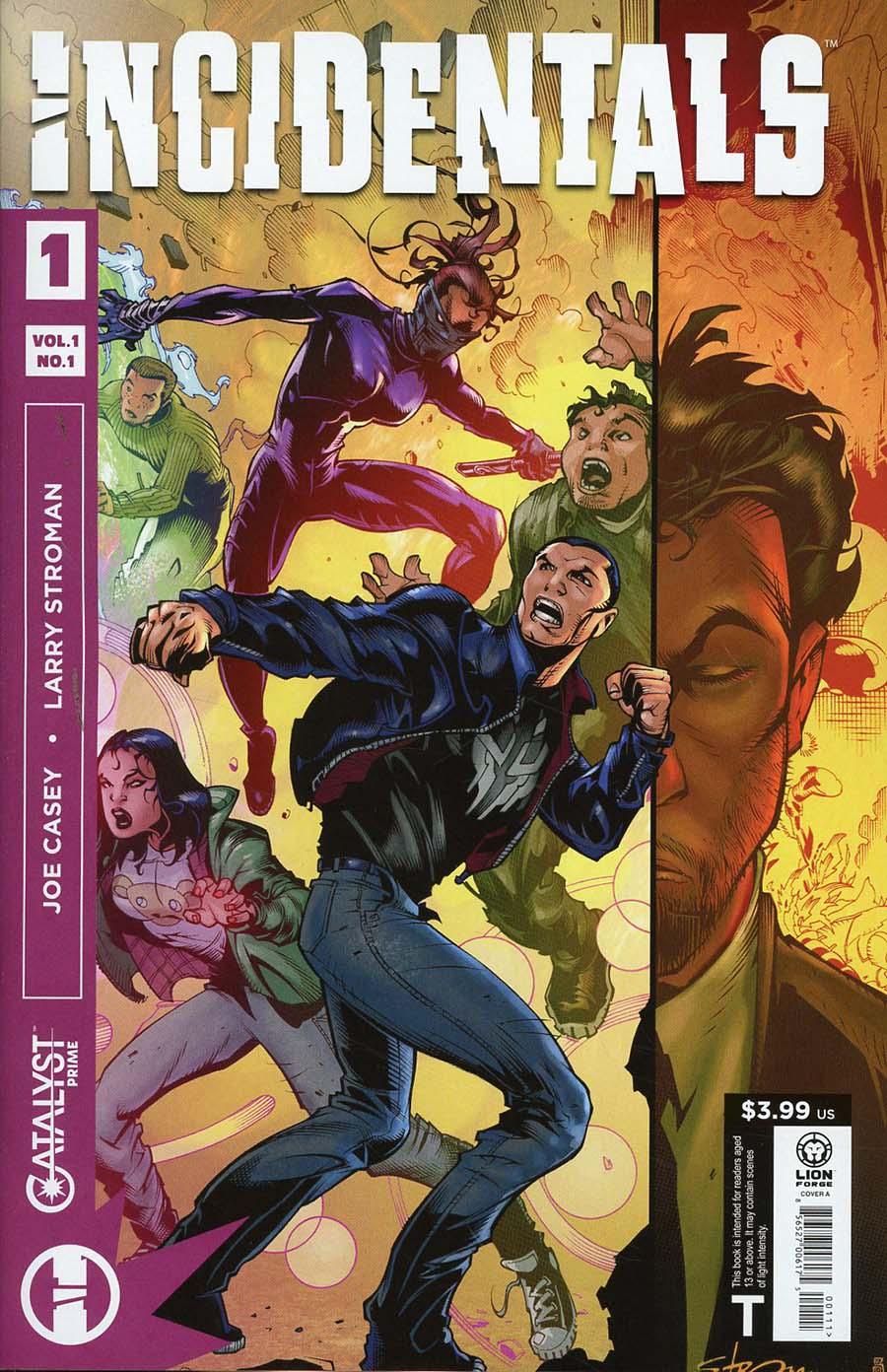 Catalyst Prime Incidentals #1 Cover A Regular Larry Stroman Cover