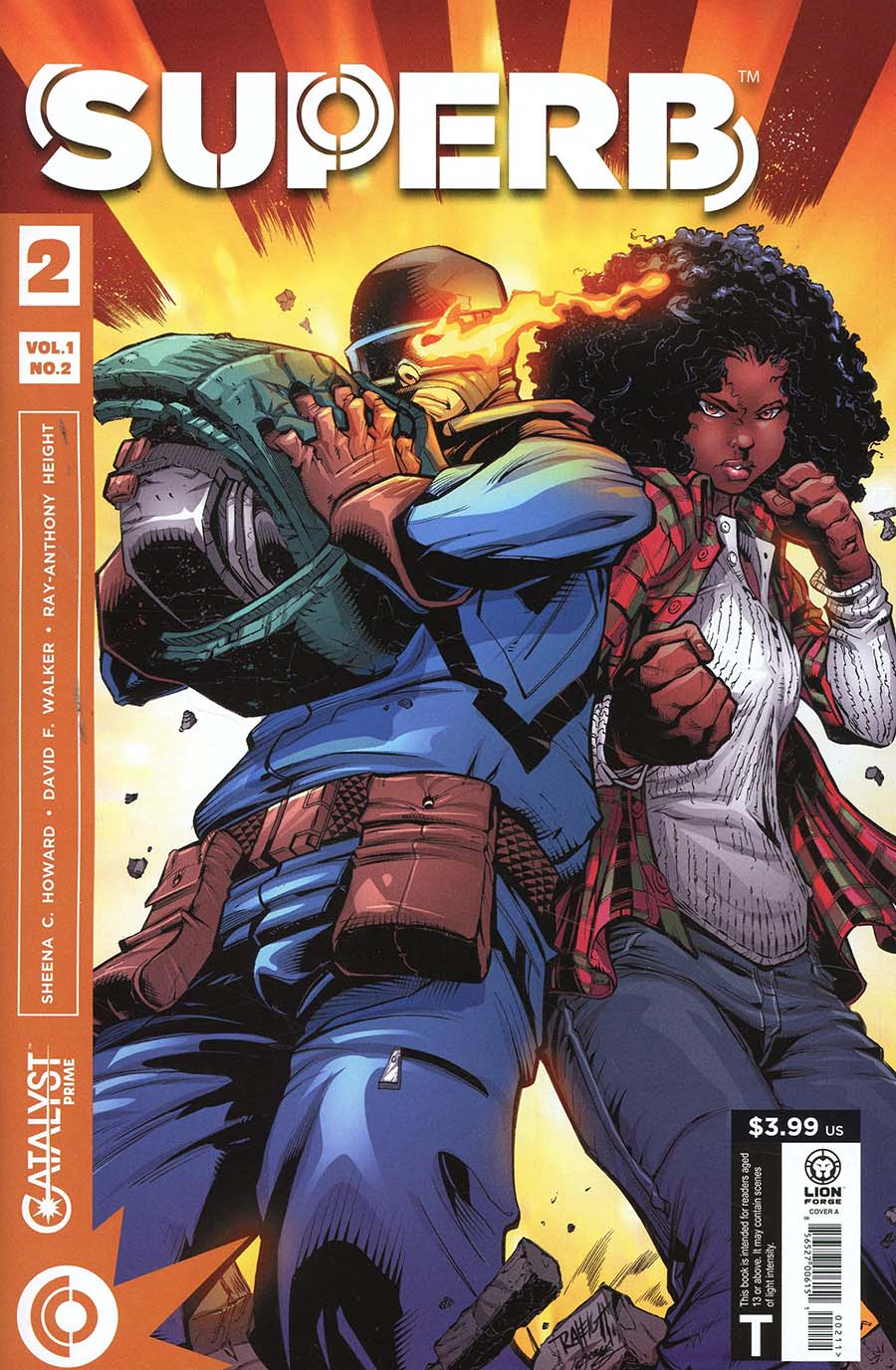 Catalyst Prime Superb #2 Cover A Regular Ray-Anthony Height Cover