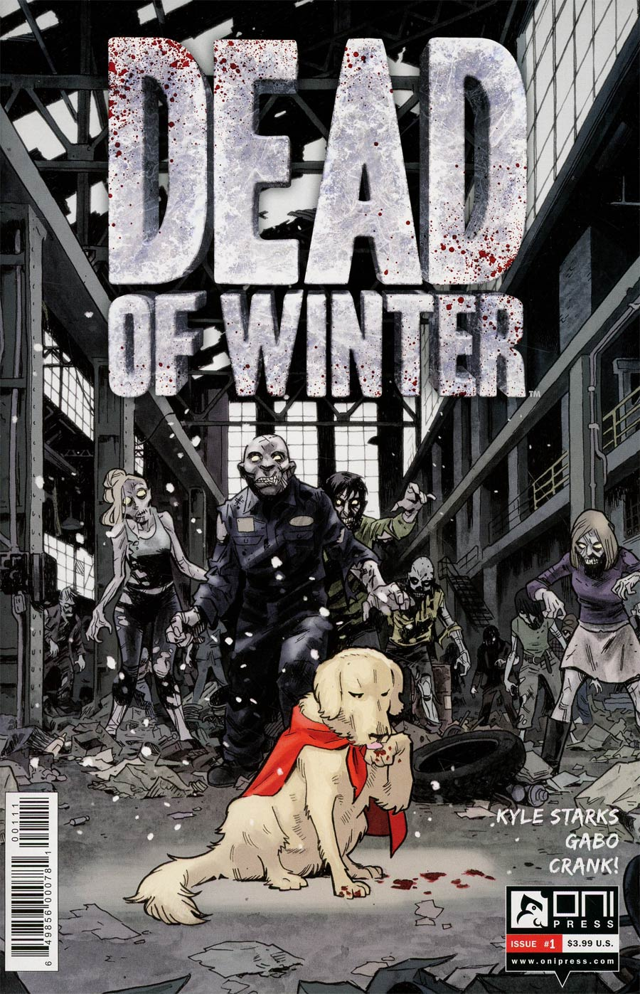 Dead Of Winter #1 Cover A Regular Brian Hurtt & Bill Crabtree Cover