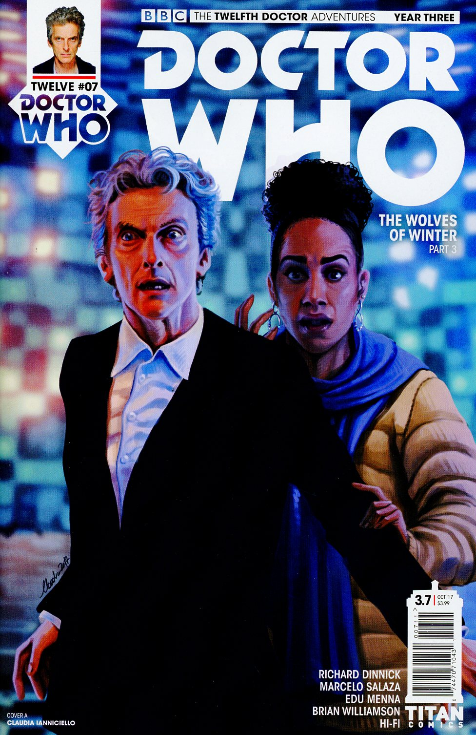 Doctor Who 12th Doctor Year Three #7 Cover A Regular Claudia Ianniciello Cover