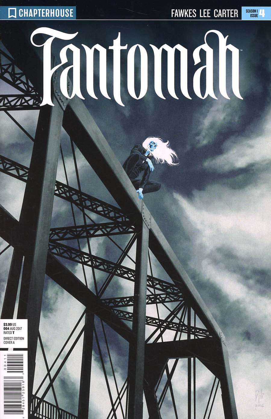 Fantomah #4 Cover A Regular Djibril Morrisette Cover