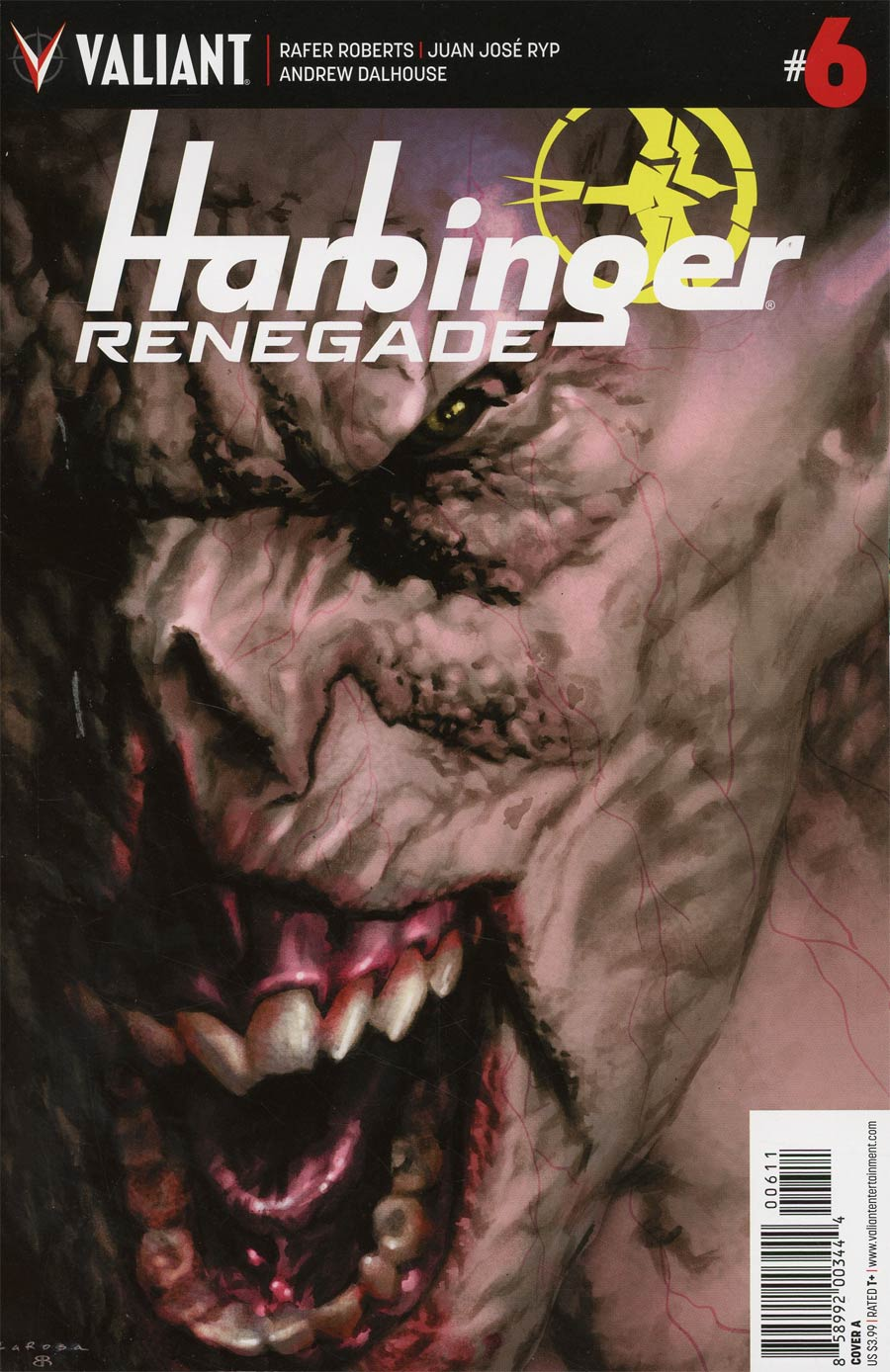 Harbinger Renegade #6 Cover A Regular Lewis Larosa Cover