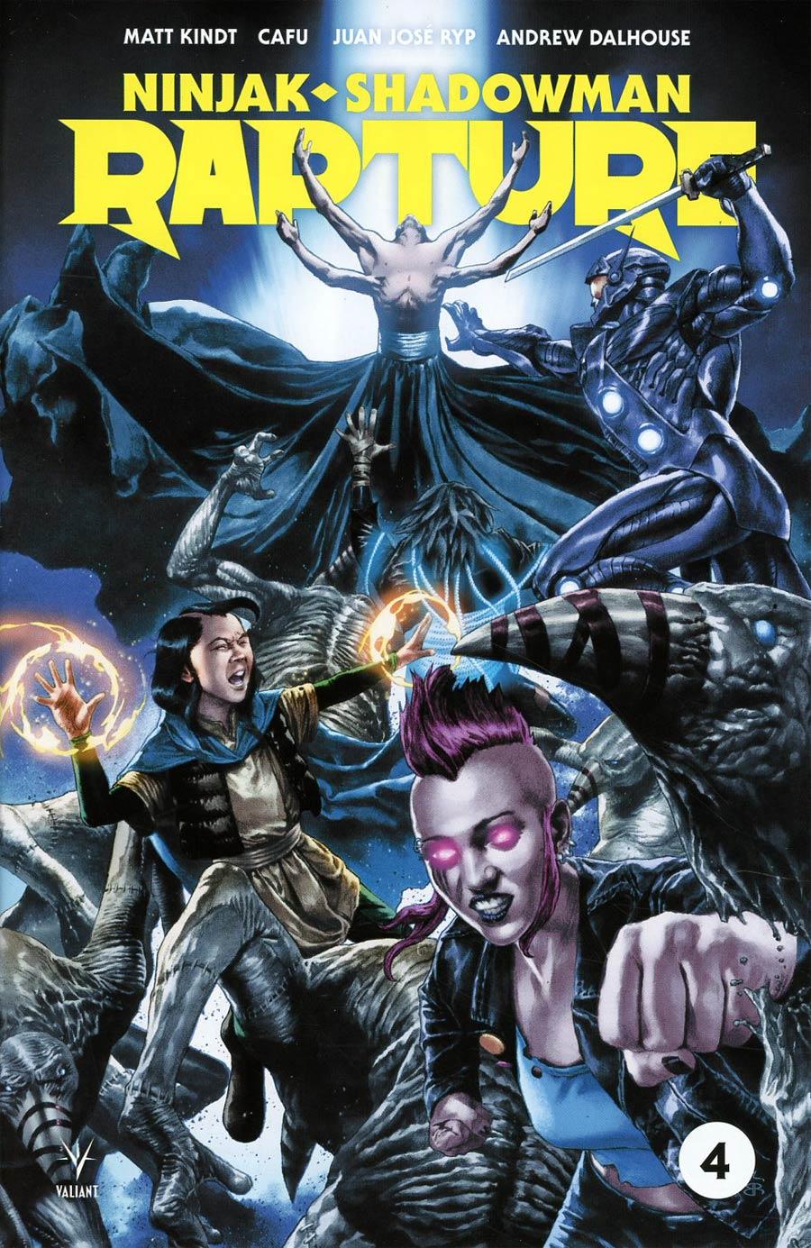 Rapture (Valiant Entertainment) #4 Cover A Regular Mico Suayan Cover