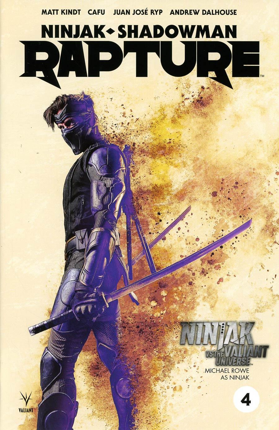 Rapture (Valiant Entertainment) #4 Cover C Variant Ninjak vs The Valiant Universe Cover