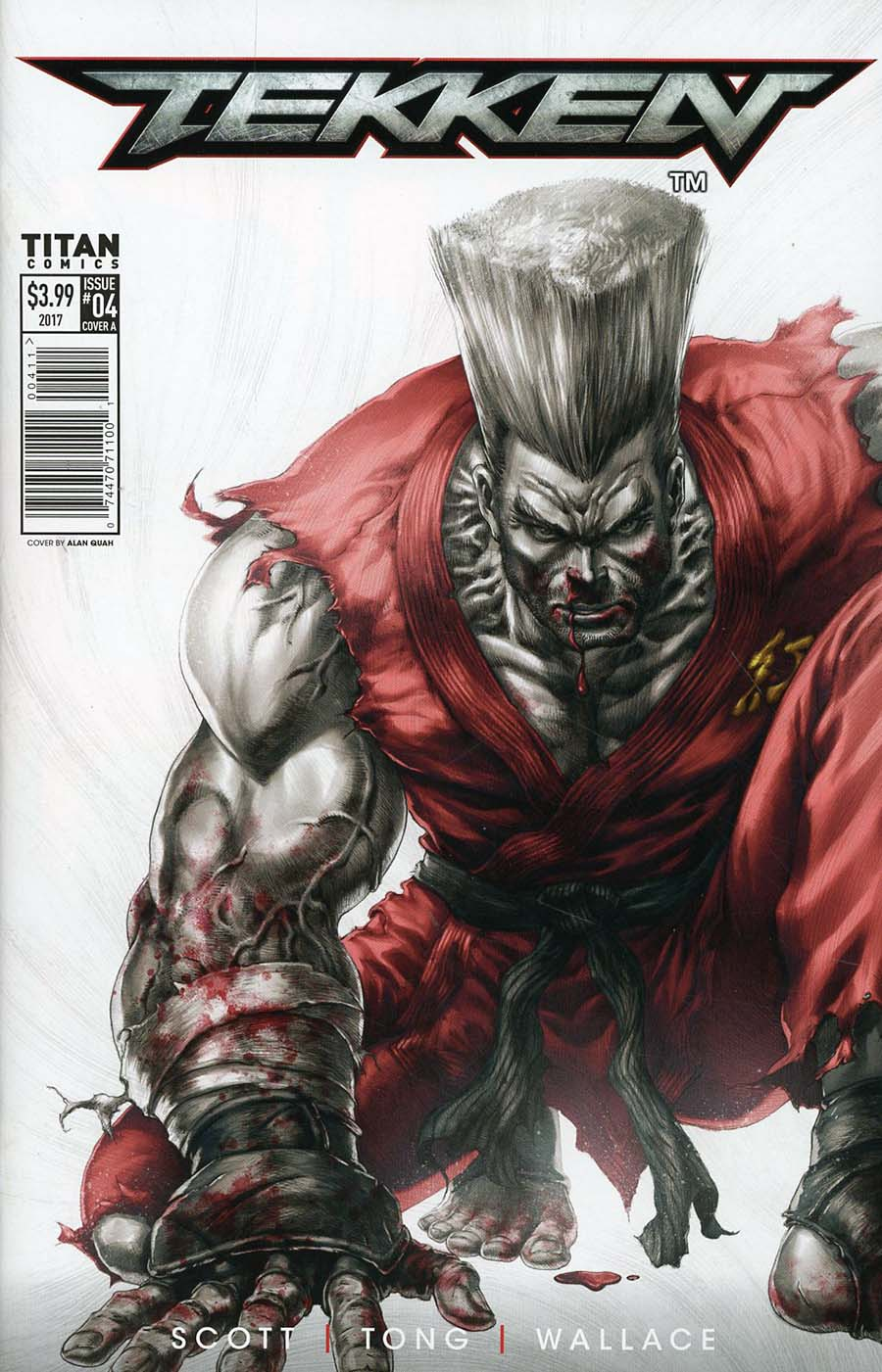 Tekken #4 Cover A Regular Alan Quah Cover