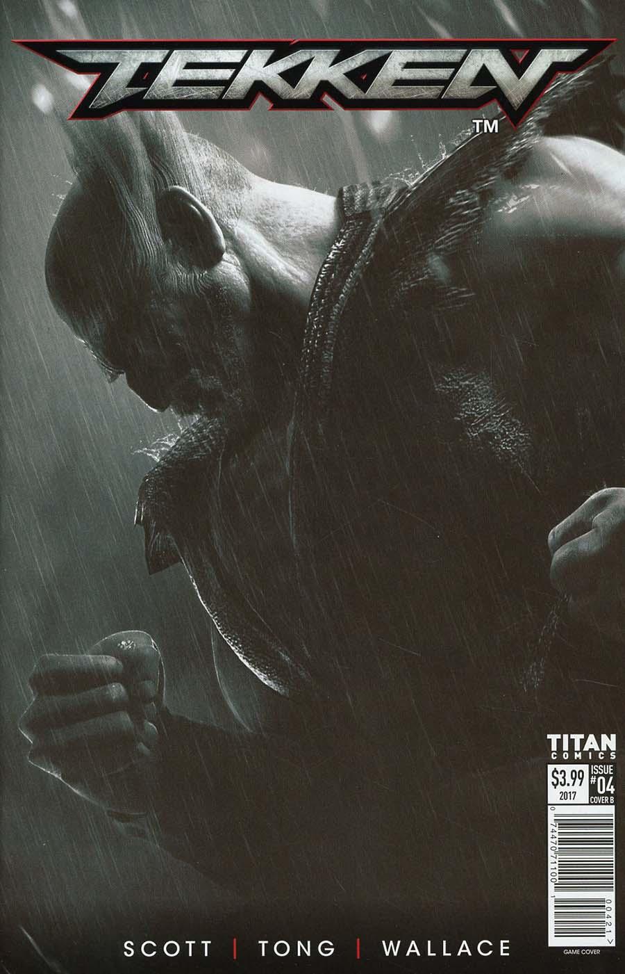 Tekken #4 Cover B Variant Video Game Cover