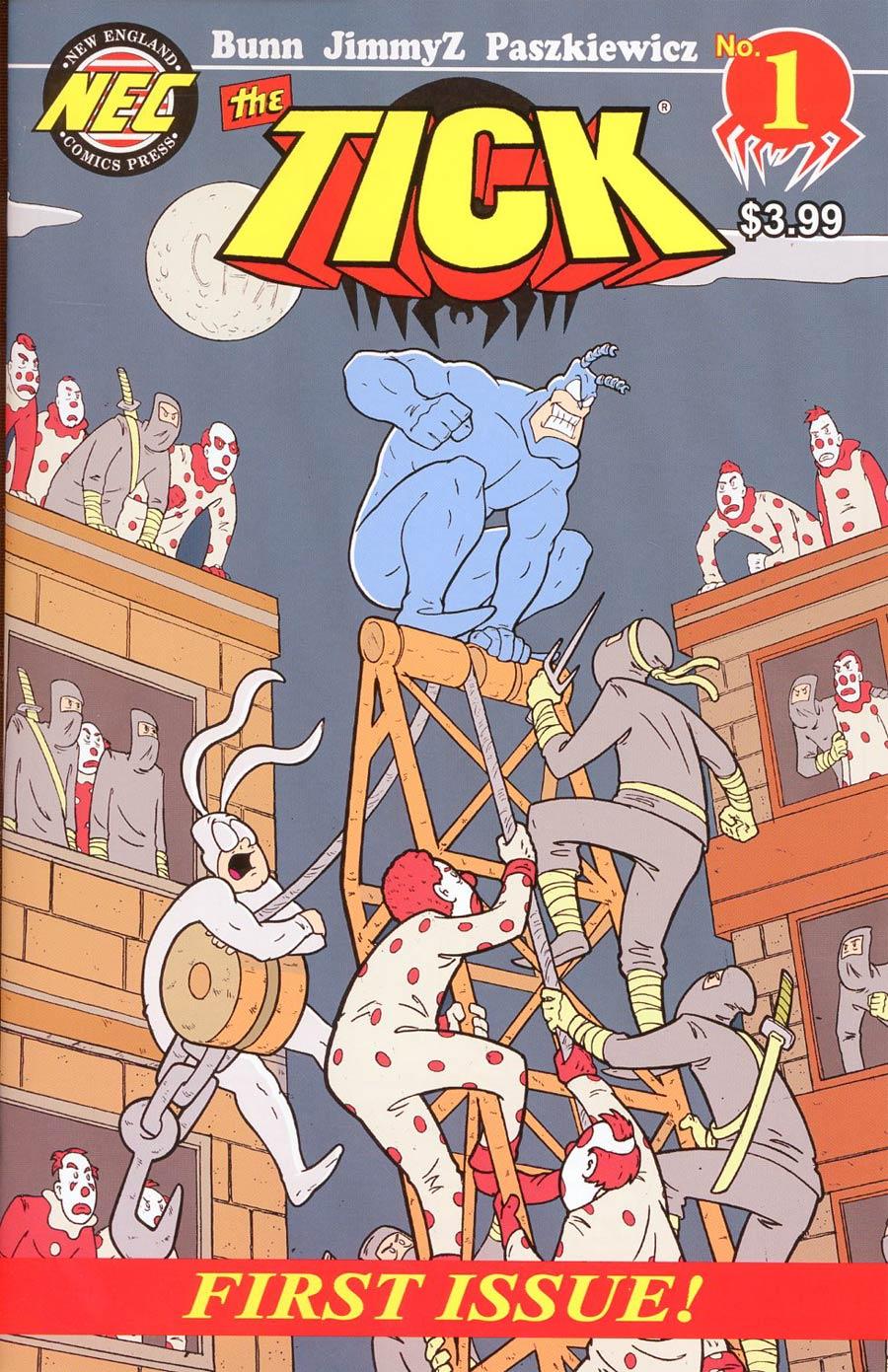Tick Vol 2 #1 Cover A Regular Douglas Paskiewicz Cover