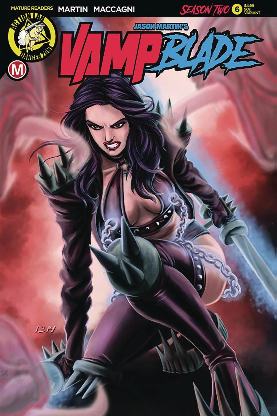 Vampblade Season 2 #6 Cover E Variant Ben Hansen 90s Cover