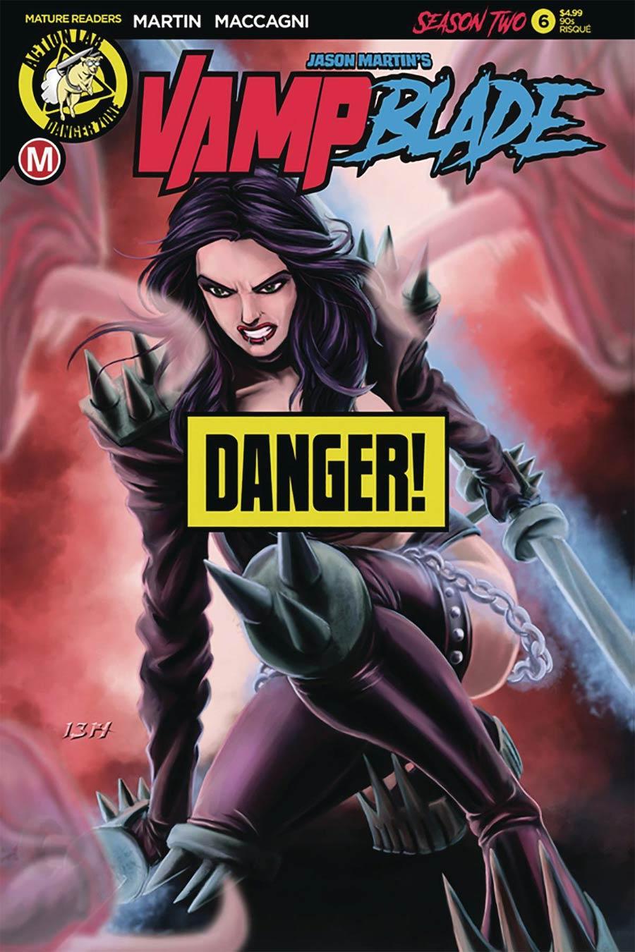 Vampblade Season 2 #6 Cover F Variant Ben Hansen 90s Risque Cover
