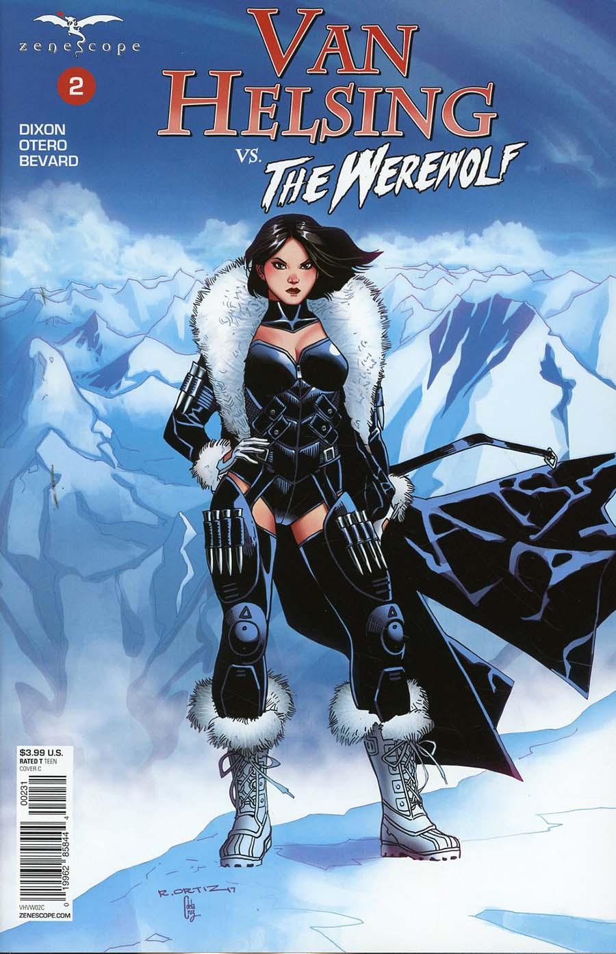 Grimm Fairy Tales Presents Van Helsing vs The Werewolf #2 Cover C Richard Ortiz