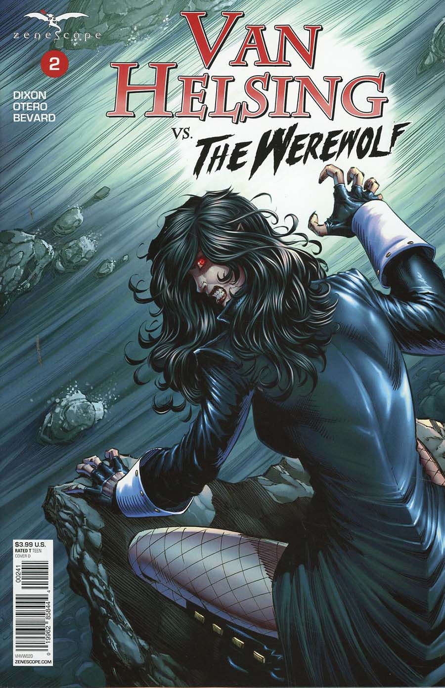 Grimm Fairy Tales Presents Van Helsing vs The Werewolf #2 Cover D Jason Metcalf