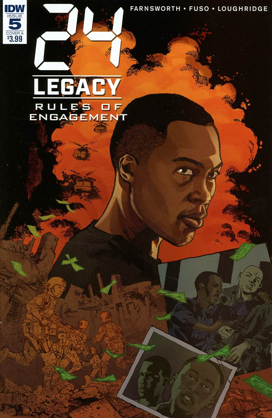 24 Legacy Rules Of Engagement #5 Cover A Regular Georges Jeanty Cover