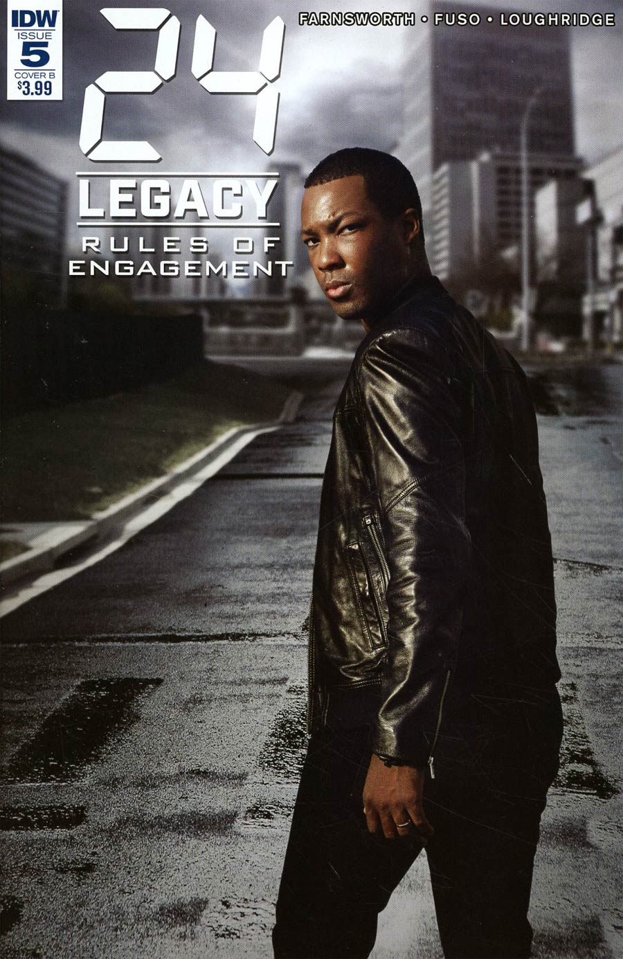 24 Legacy Rules Of Engagement #5 Cover B Variant Photo Cover