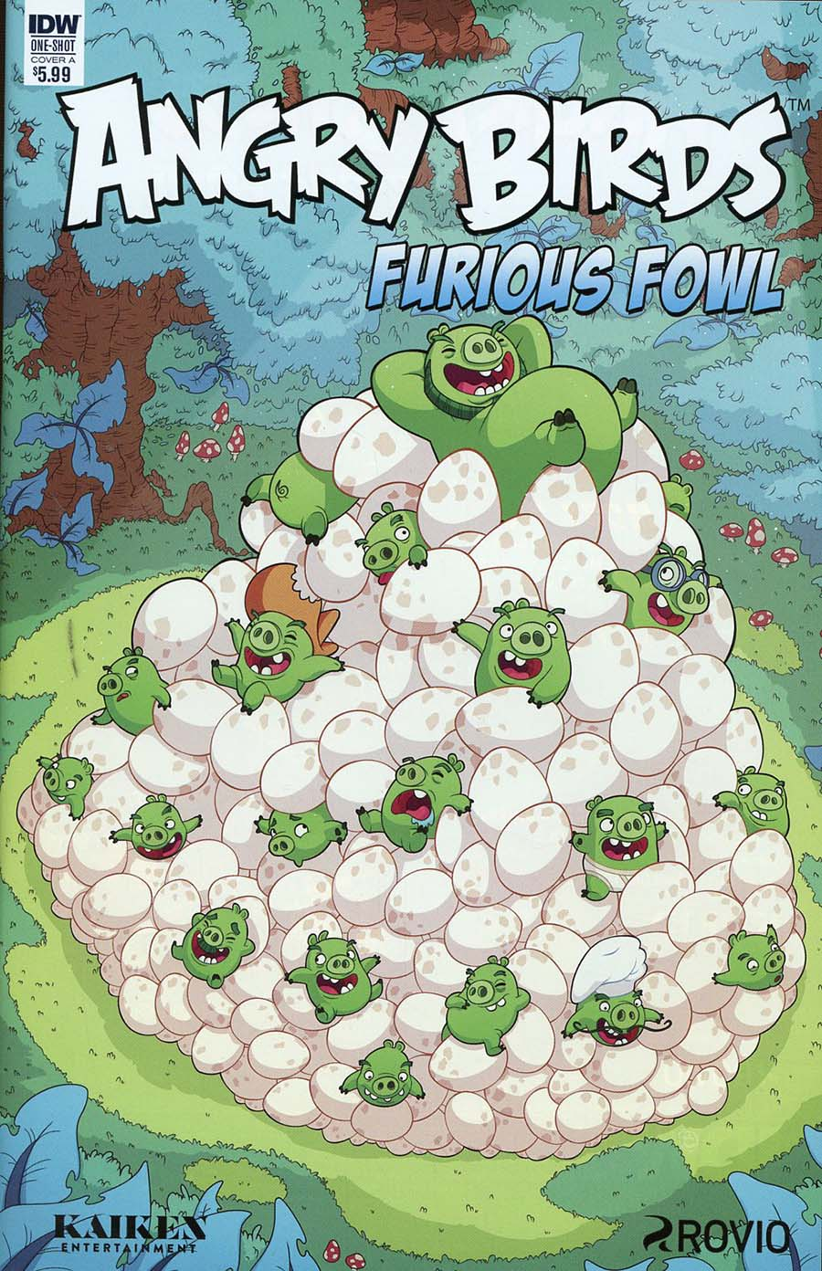 Angry Birds Comics Furious Fowl Cover A Regular Philip Murphy Cover