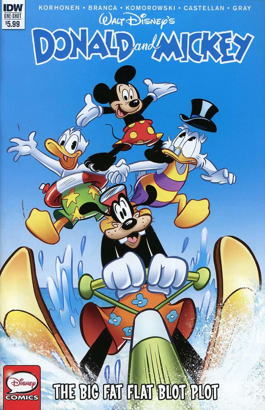 Donald And Mickey #1 Cover B Variant Fabrizio Petrossi & Morgan Prost Cover