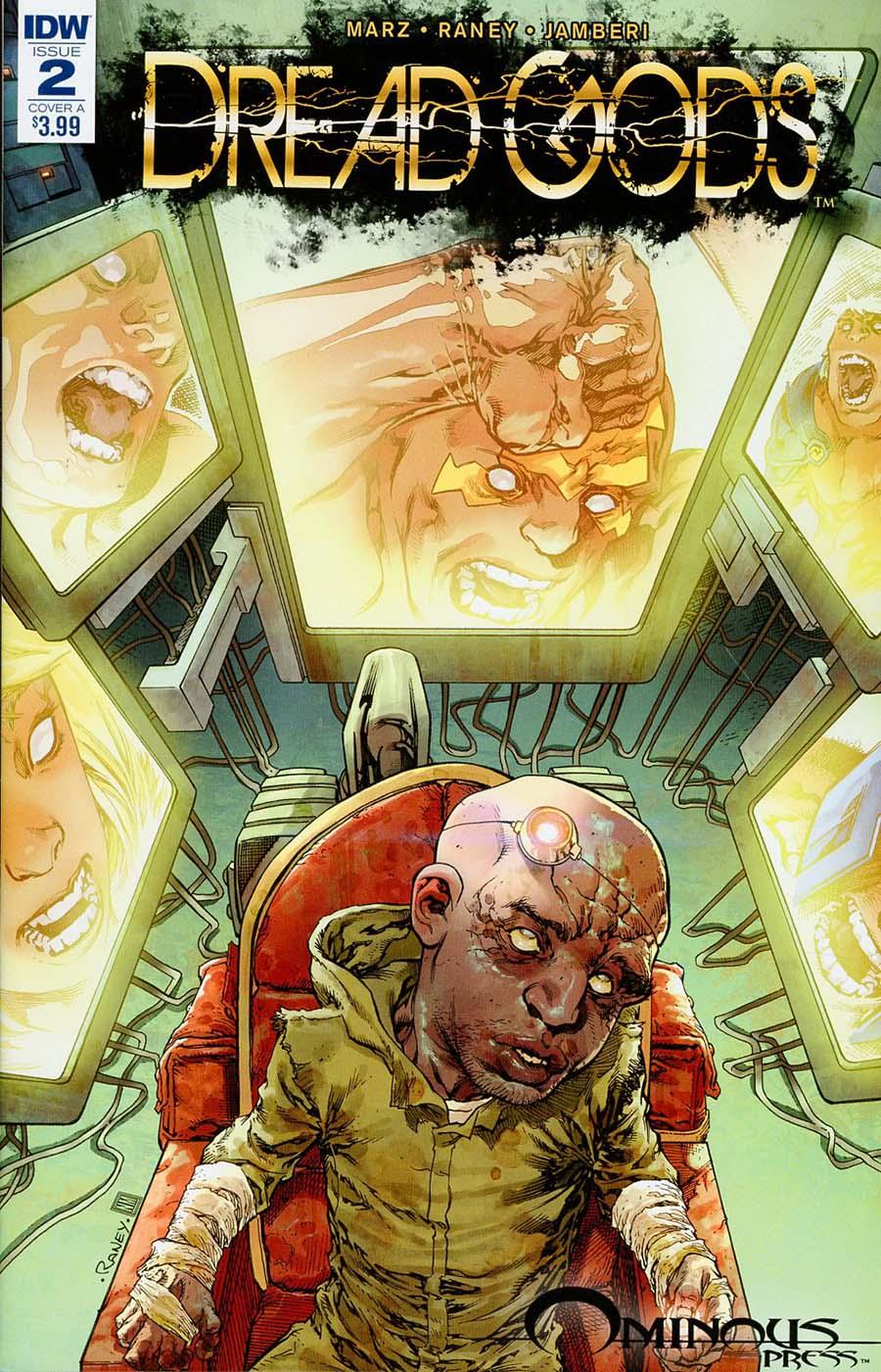 Dread Gods #2 Cover A Regular Tom Raney Cover