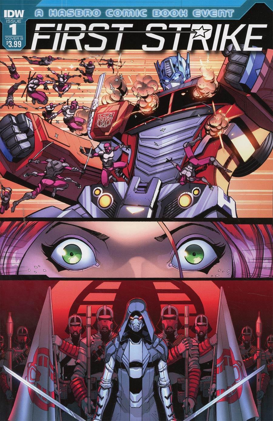 First Strike #1 Cover B Variant Max Dunbar Cover