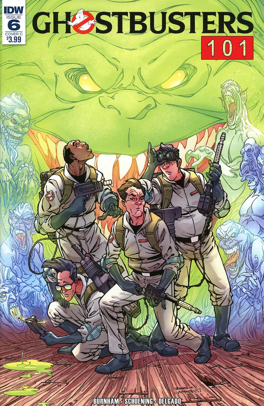 Ghostbusters 101 #6 Cover C Variant Bart Sears Cover