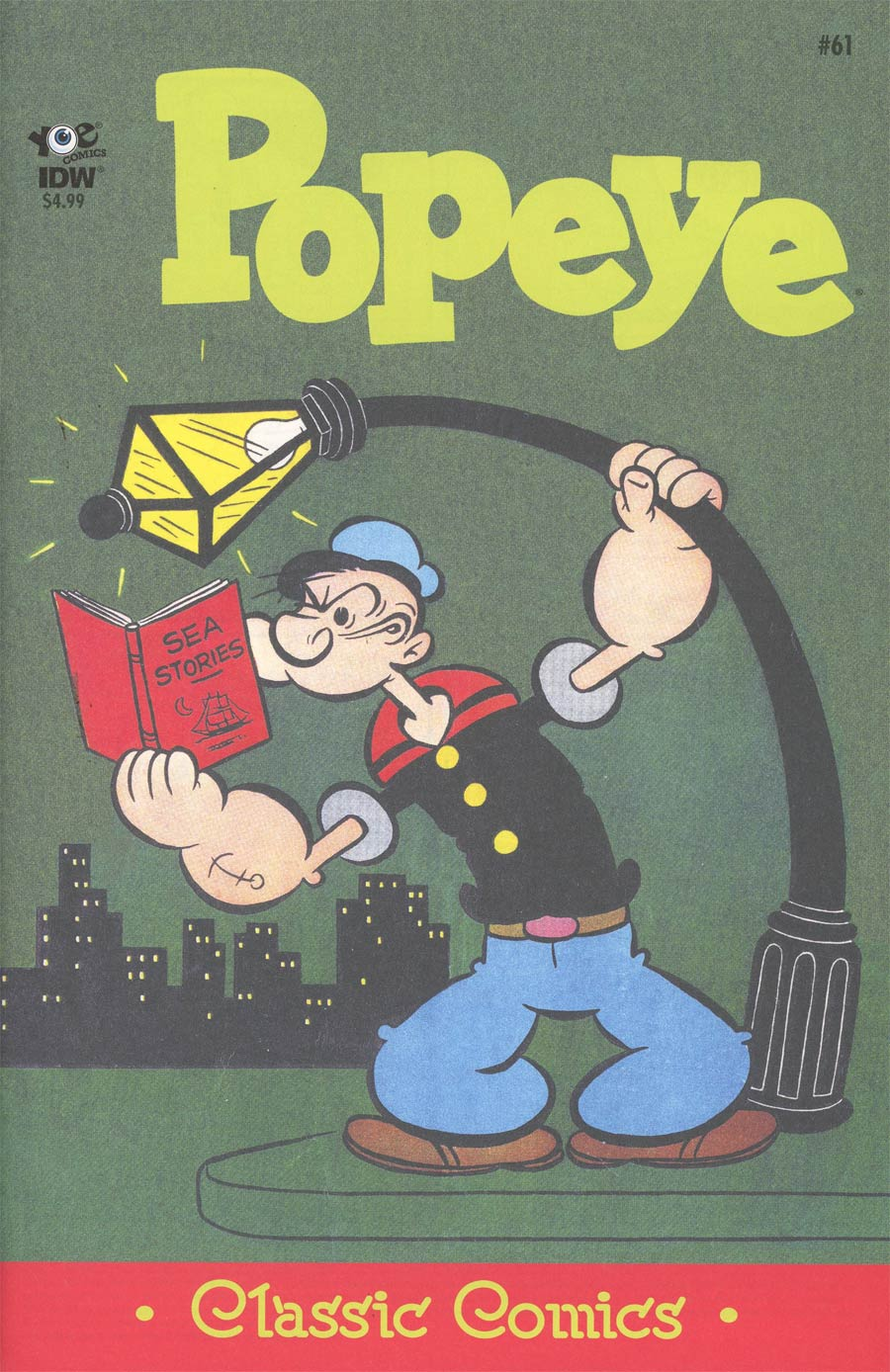 Classic Popeye #61 Cover A Regular Bud Sagendorf Cover