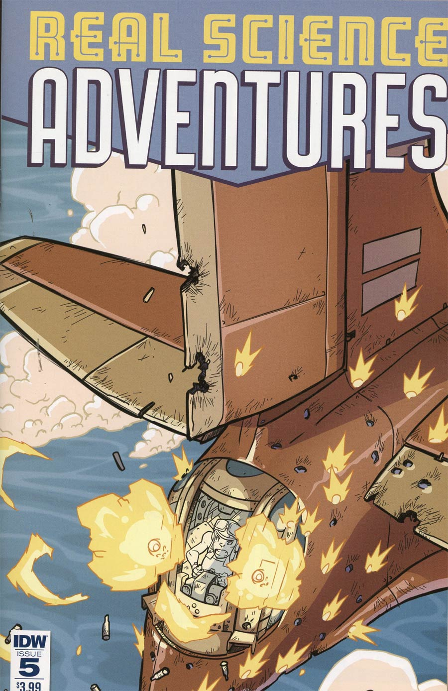 Atomic Robo Presents Real Science Adventures #5 Cover A Regular Scott Wegener Cover