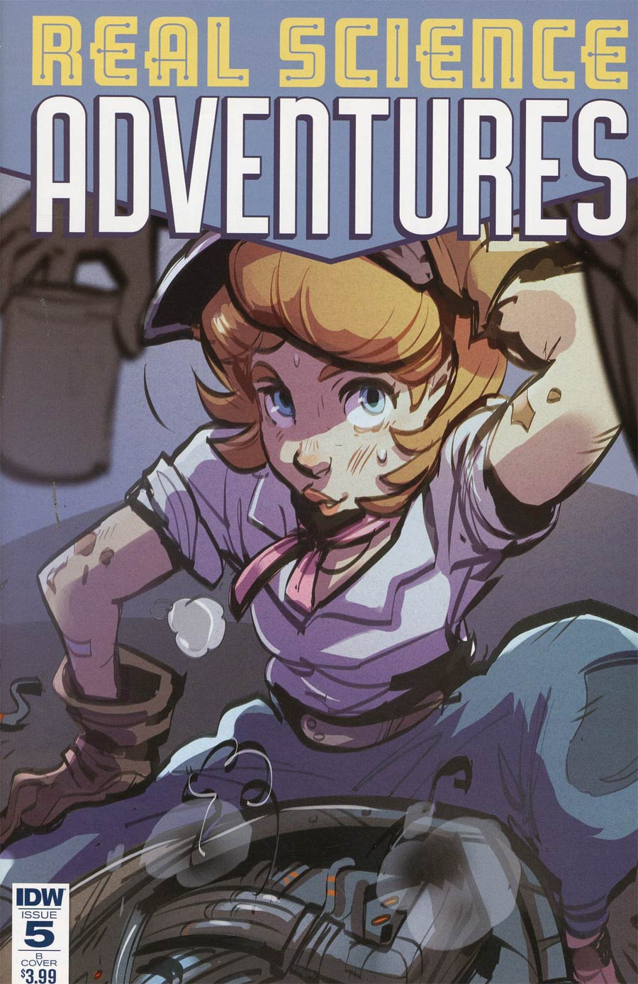 Atomic Robo Presents Real Science Adventures #5 Cover B Variant Niki Foley Cover