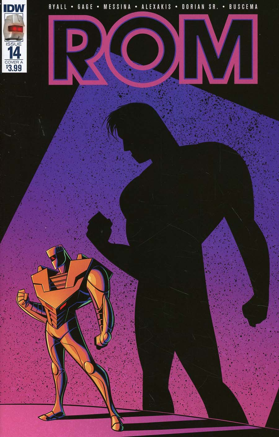 ROM Vol 2 #14 Cover A Regular Nathan Greno Cover