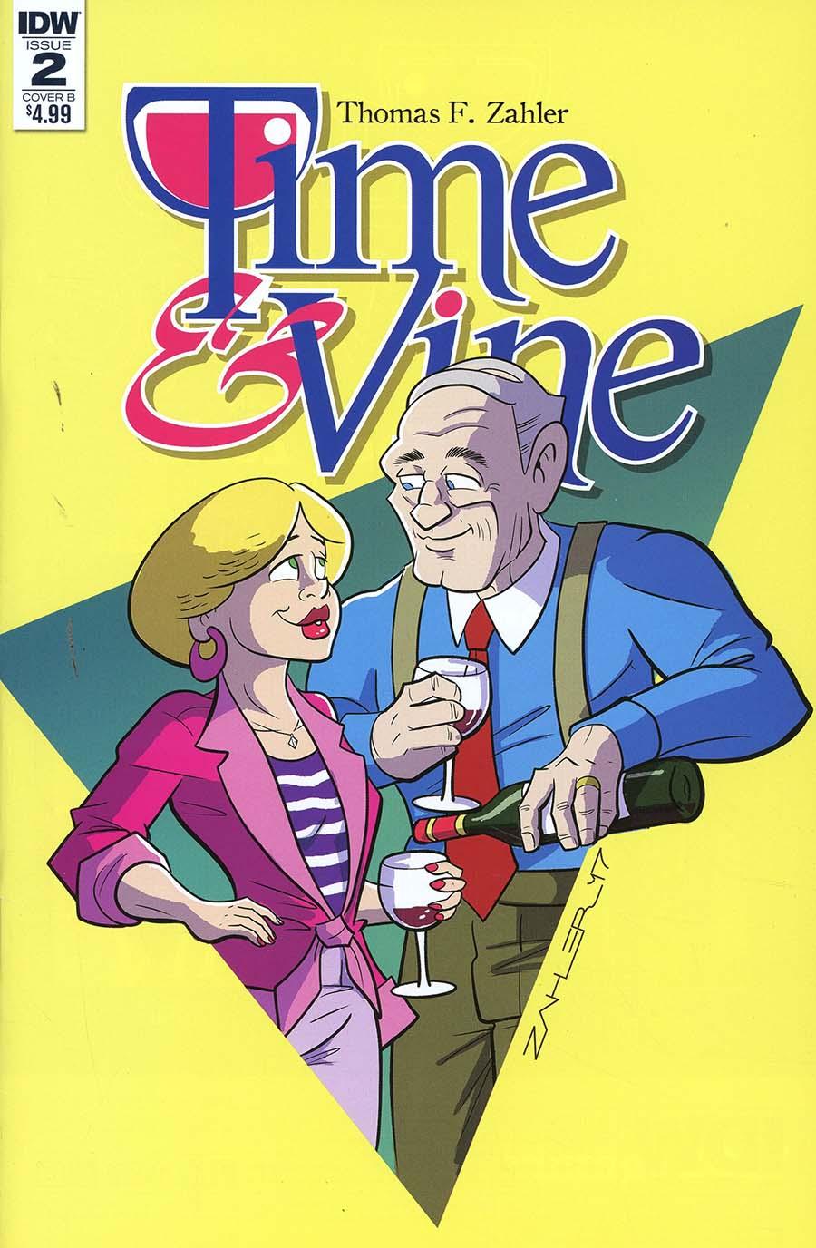 Time & Vine #2 Cover B Variant Thom Zahler Cover