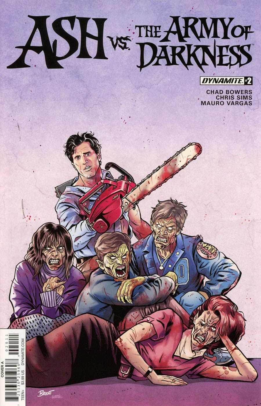 Ash vs The Army Of Darkness #2 Cover A Regular Brent Schoonover Cover