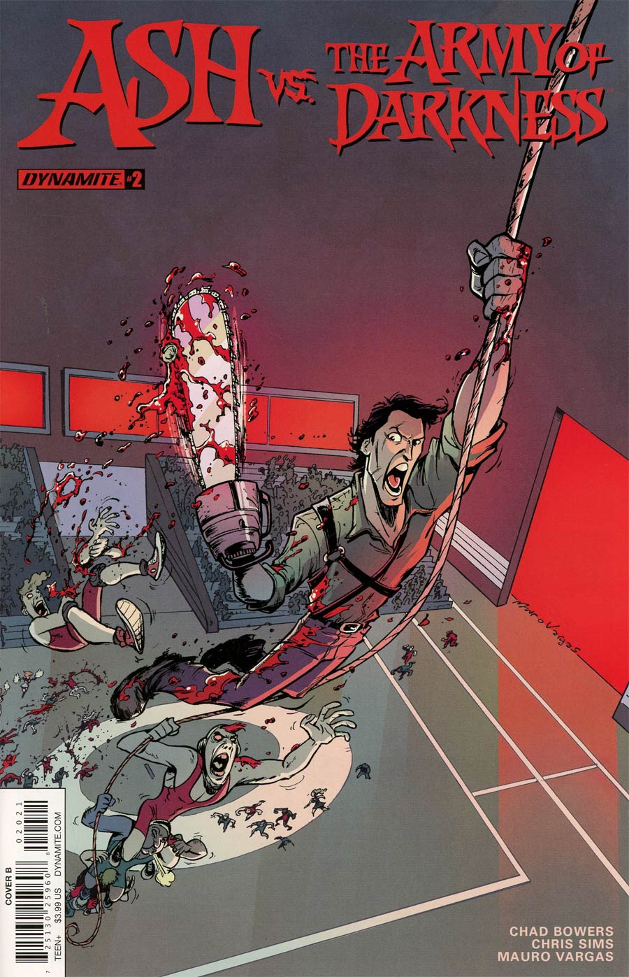 Ash vs The Army Of Darkness #2 Cover B Variant Mauro Vargas Cover