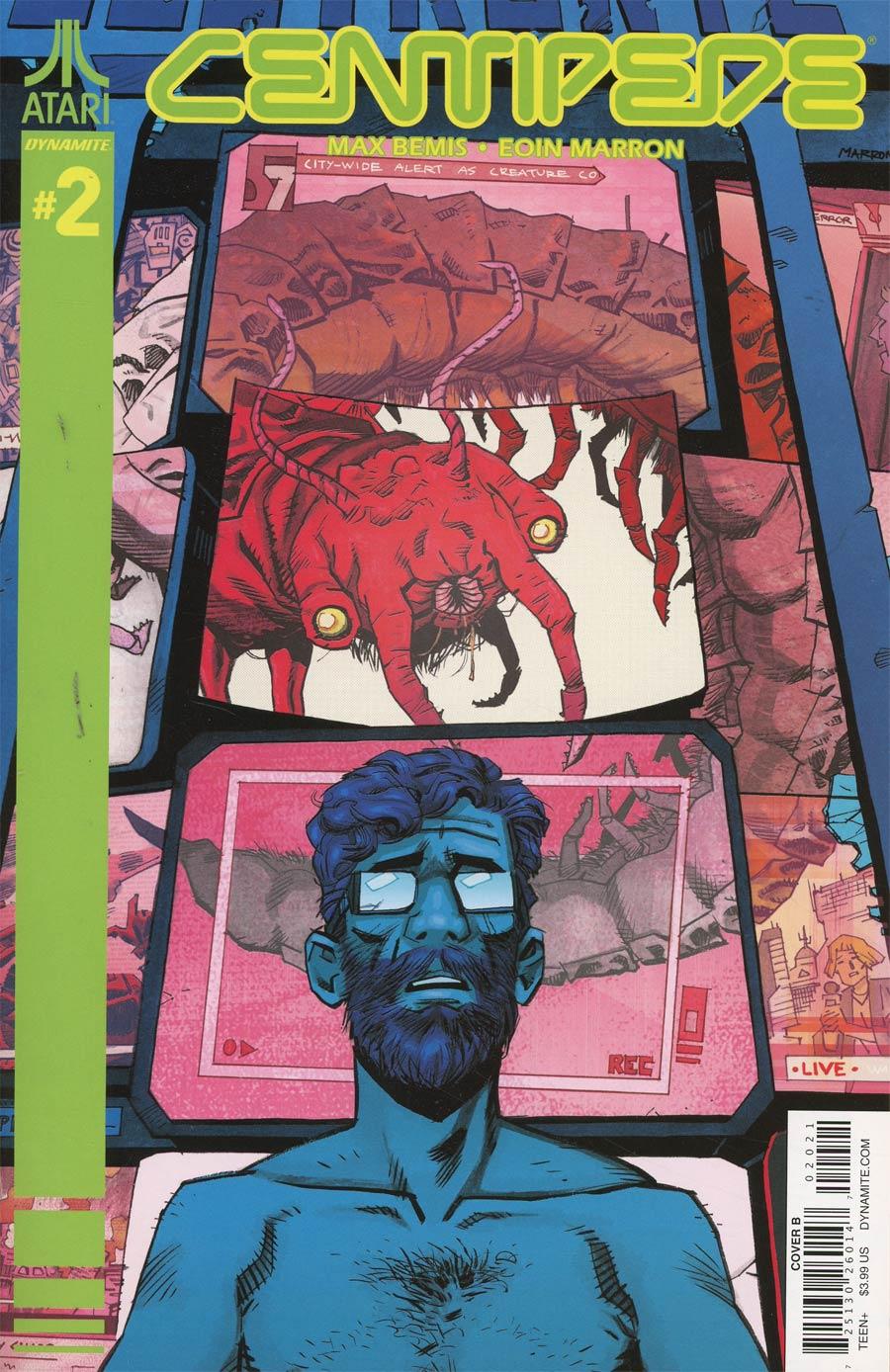 Centipede #2 Cover B Variant Eoin Marron Cover