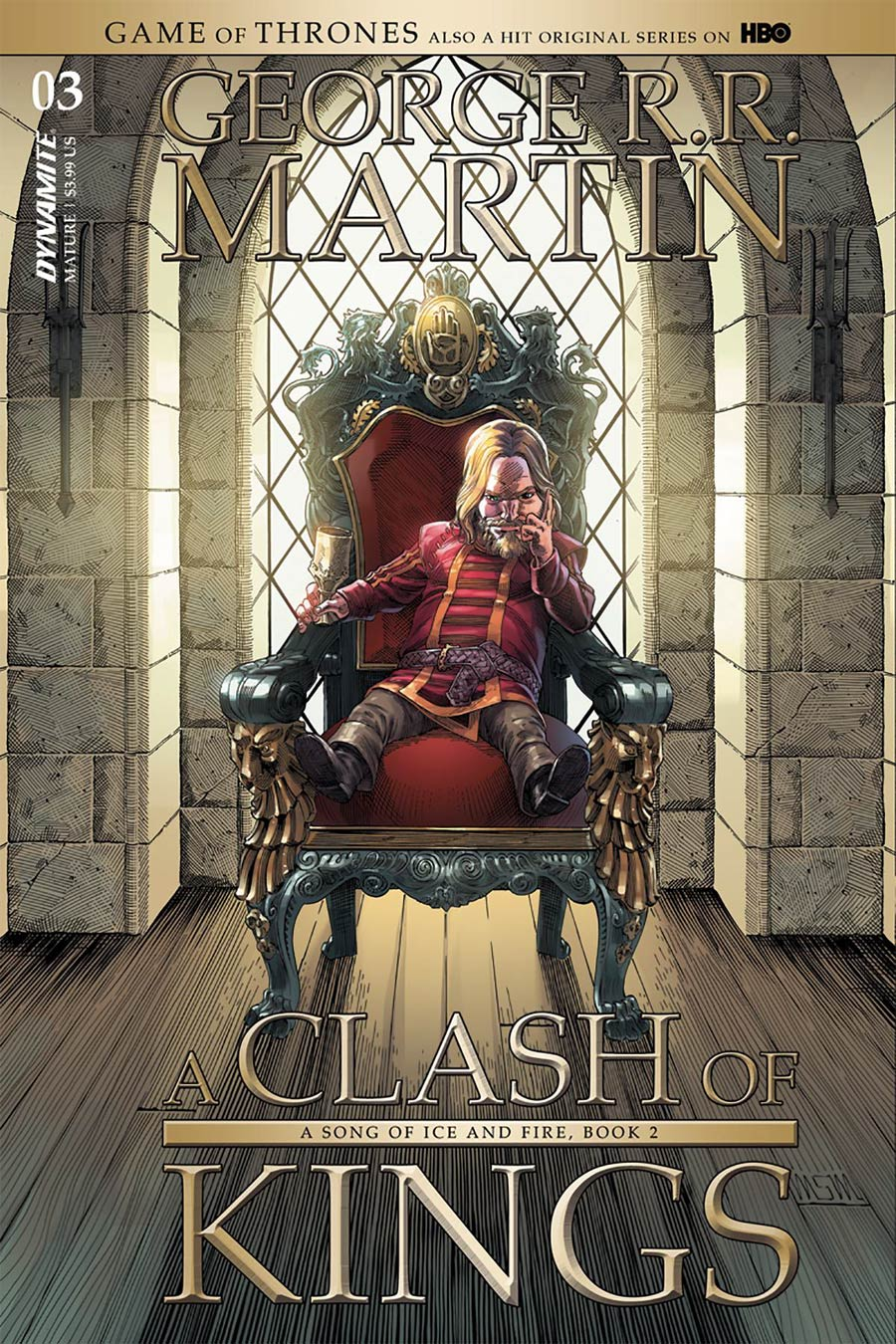 Game Of Thrones Clash Of Kings #3 Cover A Regular Mike Miller Cover