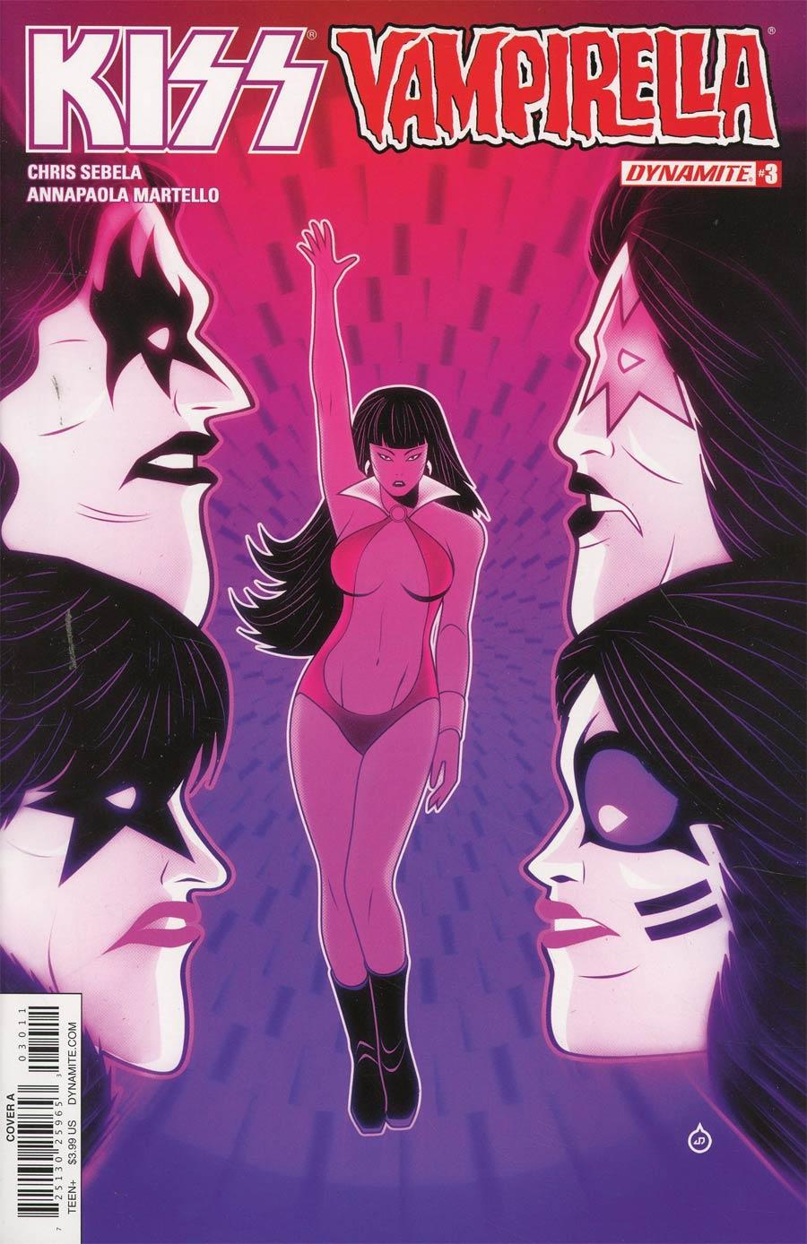 KISS Vampirella #3 Cover A Regular Juan Doe Cover