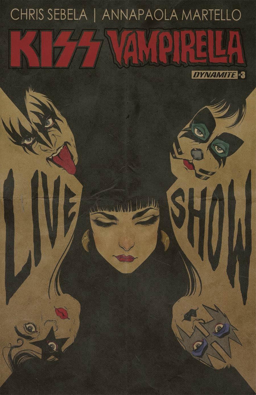 KISS Vampirella #3 Cover B Variant Carli Ihde Cover