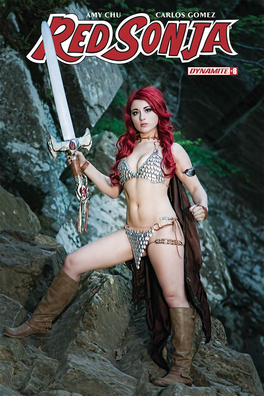 Red Sonja Vol 7 #8 Cover D Variant Cosplay Photo Cover