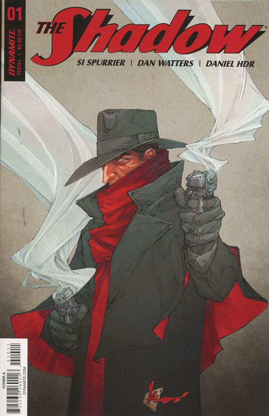 Shadow Vol 7 #1 Cover A Regular Kenneth Rocafort Cover