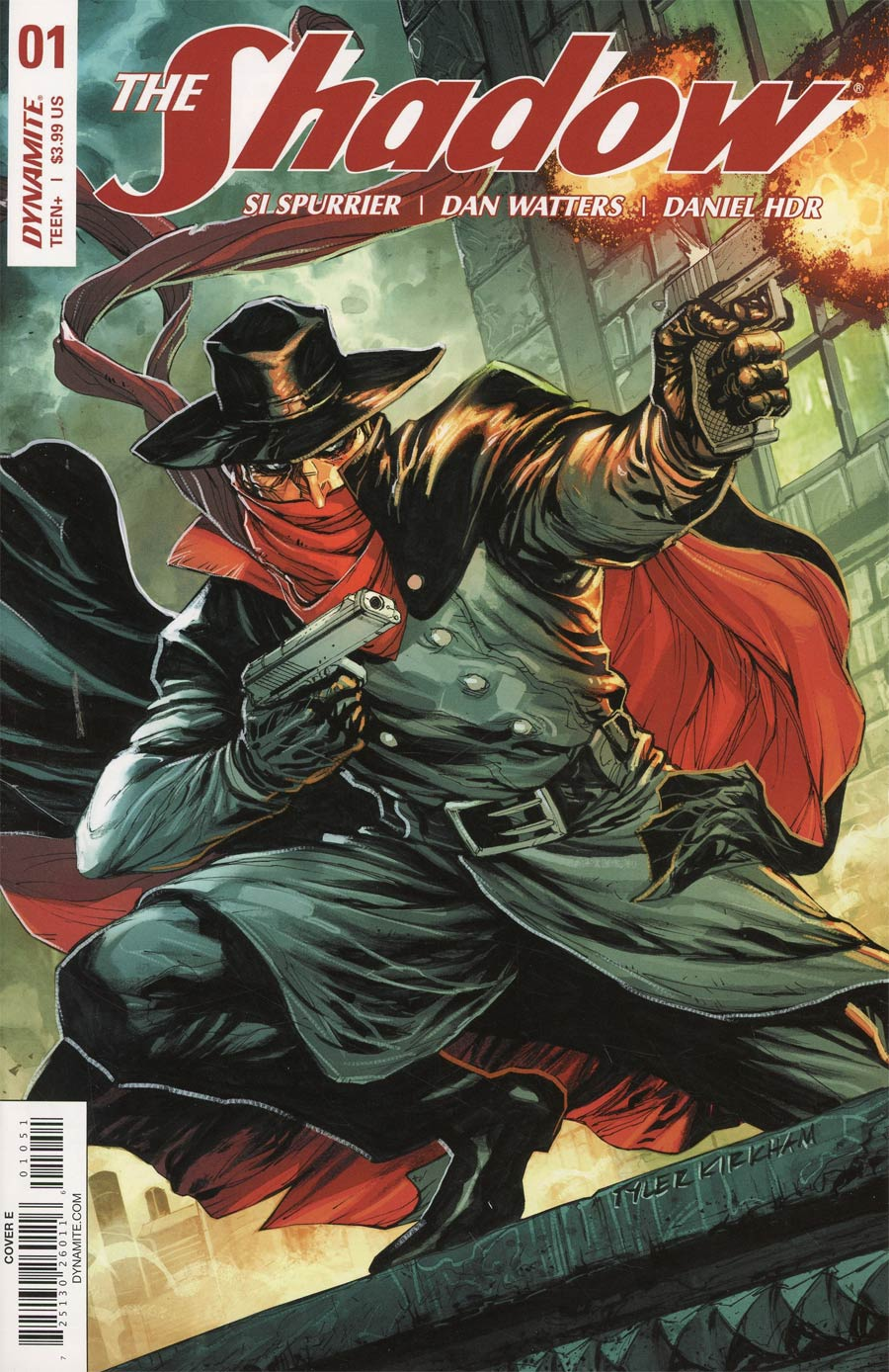 Shadow Vol 7 #1 Cover E Variant Tyler Kirkham Subscription Cover