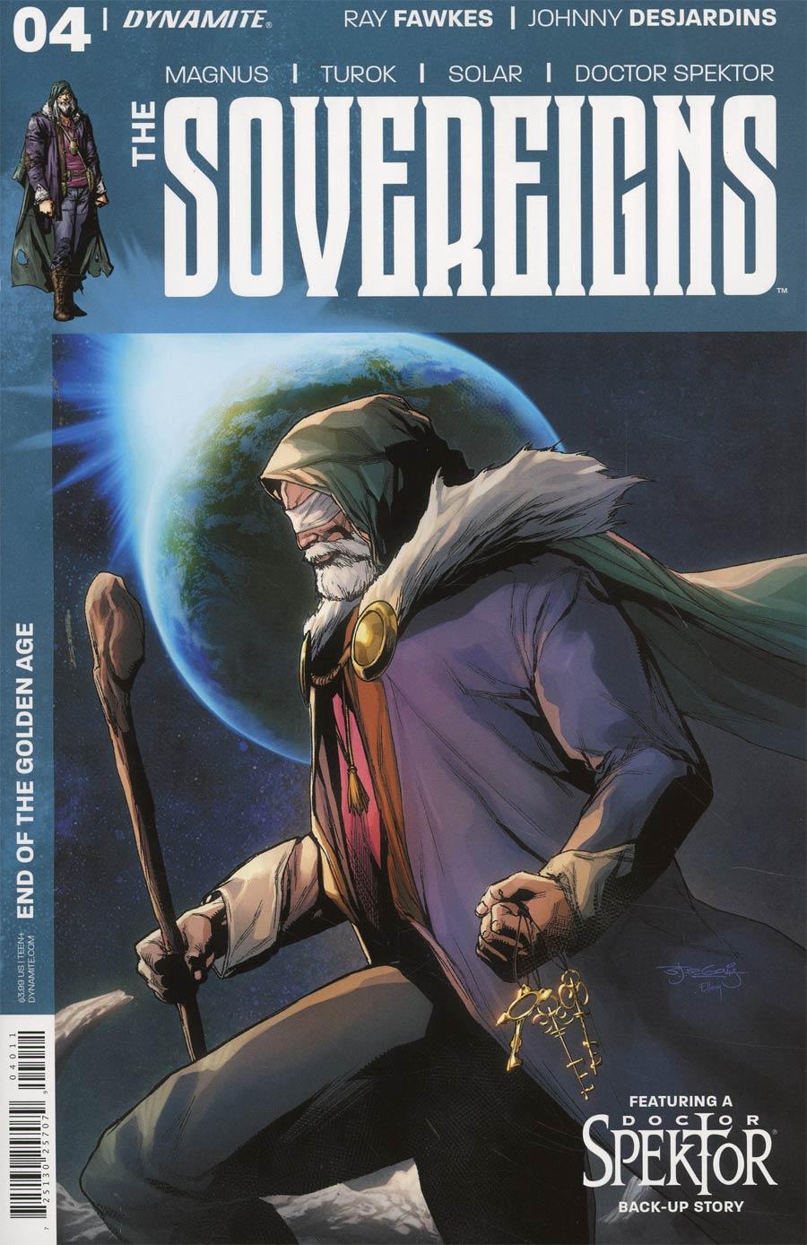 Sovereigns #4 Cover A Regular Stephen Segovia Cover