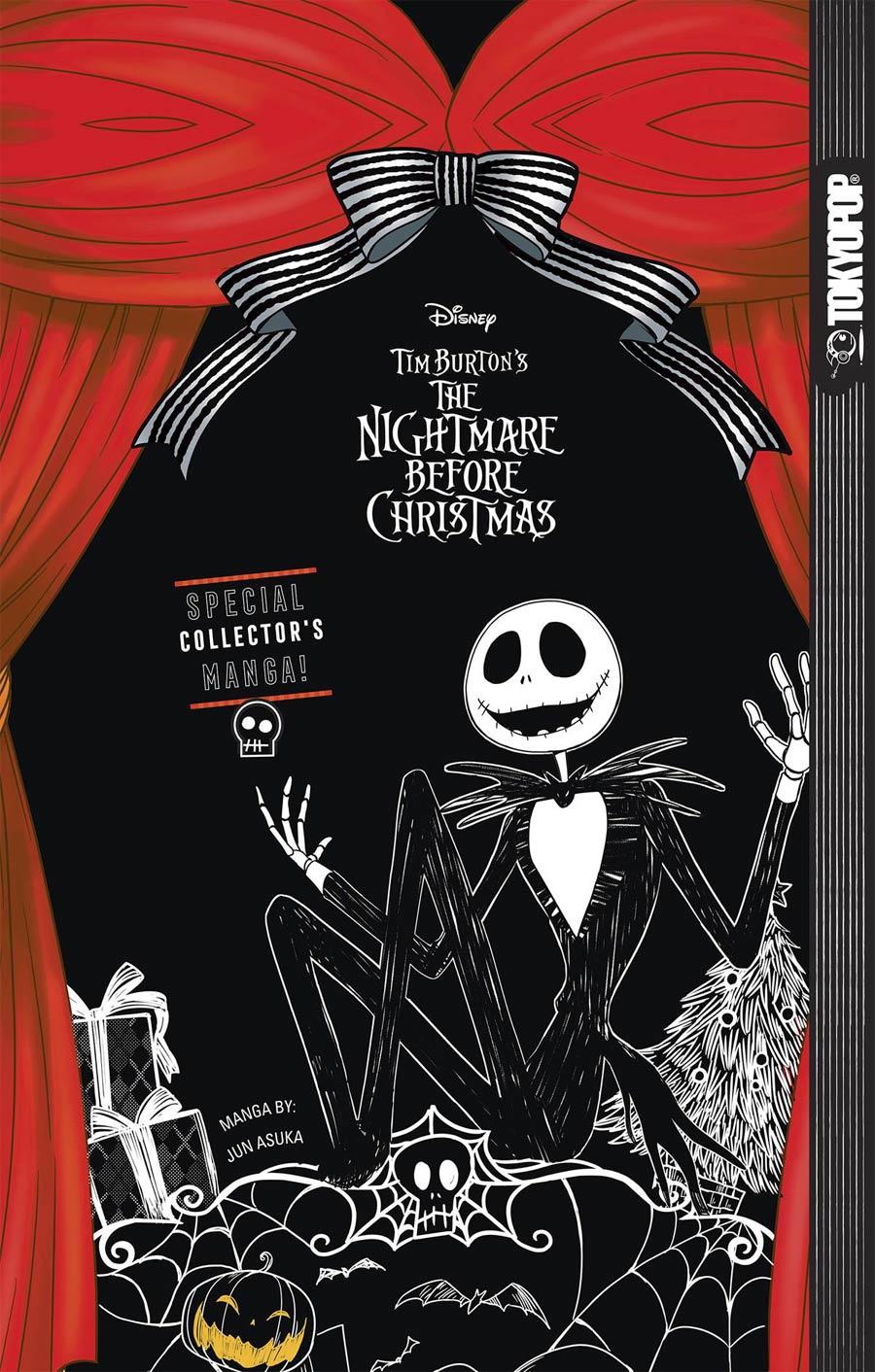 Disney Tim Burtons Nightmare Before Christmas Manga GN